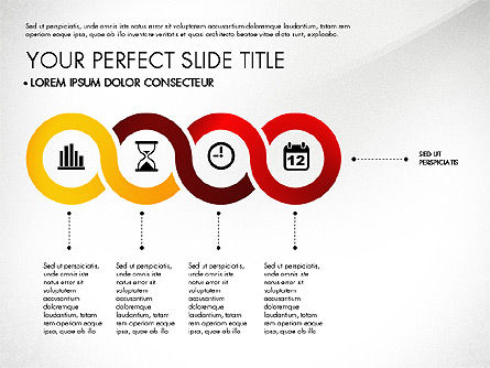 Business Report with Process Diagrams, Slide 6, 02919, Process Diagrams — PoweredTemplate.com