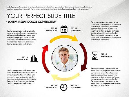 Business Report with Process Diagrams, Slide 8, 02919, Process Diagrams — PoweredTemplate.com