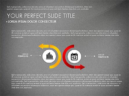 Business Report with Process Diagrams, Slide 9, 02919, Process Diagrams — PoweredTemplate.com