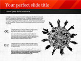 Presentation Templates: Presentation with Icons and Silhouettes #02920