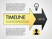 Timelines & Calendars: 스테이지와 아이콘이있는 타임 라인 #02924