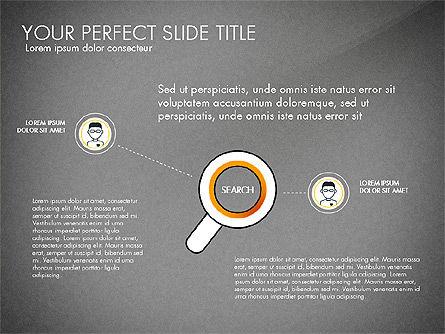 Search Concept Presentation Template, Slide 13, 02925, Presentation Templates — PoweredTemplate.com
