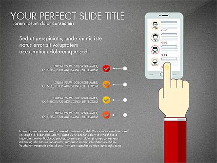 Search Concept Presentation Template, Slide 16, 02925, Presentation Templates — PoweredTemplate.com