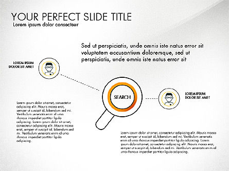 Search Concept Presentation Template, Slide 5, 02925, Presentation Templates — PoweredTemplate.com