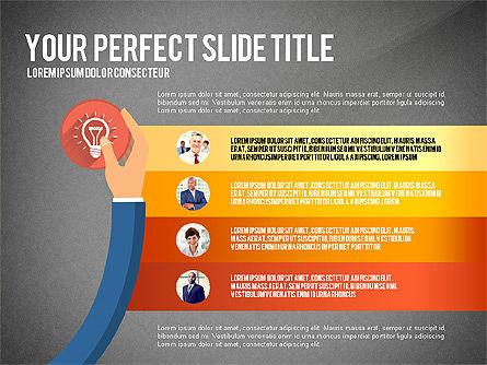 Business Hands Presentation Concept, Slide 11, 02926, Presentation Templates — PoweredTemplate.com