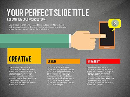Business Hands Presentation Concept, Slide 16, 02926, Presentation Templates — PoweredTemplate.com