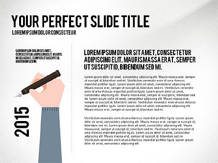 Business Hands Presentation Concept, Slide 2, 02926, Presentation Templates — PoweredTemplate.com