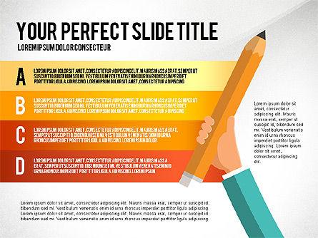 Business Hands Presentation Concept, Slide 5, 02926, Presentation Templates — PoweredTemplate.com