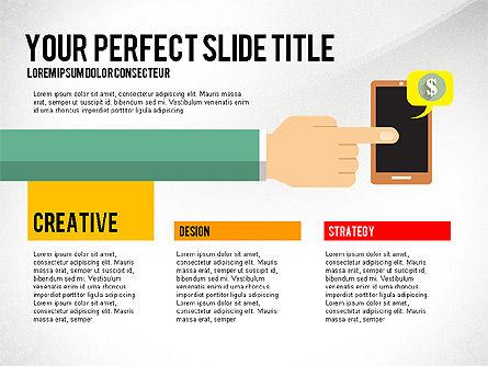 Business Hands Presentation Concept, Slide 8, 02926, Presentation Templates — PoweredTemplate.com