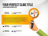 Presentation Templates: Mani di affari presentazione concetto #02926