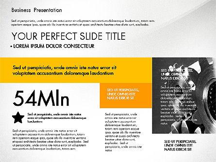 Presentation Templates: 专业的业务演示与数据驱动的图表 #02927
