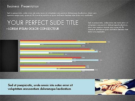 Professional Business Presentation with Data Driven Charts, Slide 10, 02927, Presentation Templates — PoweredTemplate.com