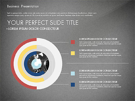 Professional Business Presentation with Data Driven Charts, Slide 11, 02927, Presentation Templates — PoweredTemplate.com