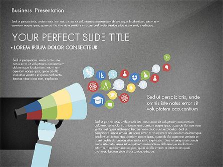 Professional Business Presentation with Data Driven Charts, Slide 14, 02927, Presentation Templates — PoweredTemplate.com