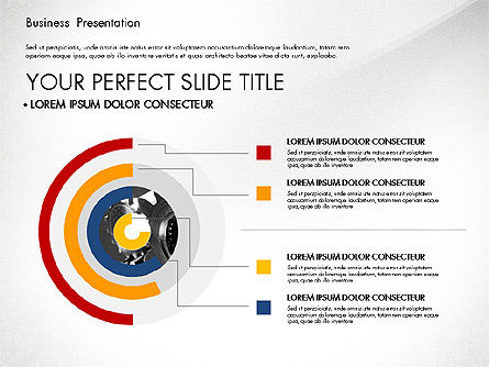 Professional Business Presentation with Data Driven Charts, Slide 3, 02927, Presentation Templates — PoweredTemplate.com