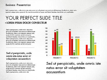 Professional Business Presentation with Data Driven Charts, Slide 5, 02927, Presentation Templates — PoweredTemplate.com