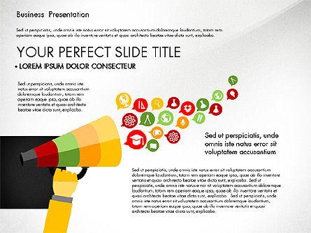 Professional Business Presentation with Data Driven Charts, Slide 6, 02927, Presentation Templates — PoweredTemplate.com