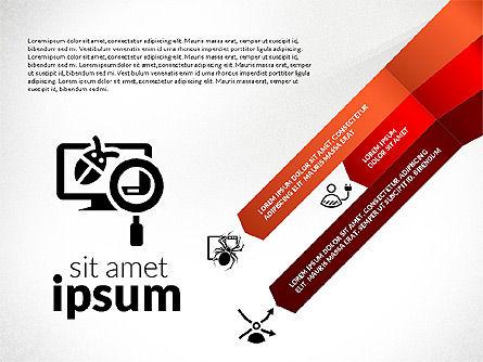 Information Security Presentation Concept, Slide 4, 02929, Presentation Templates — PoweredTemplate.com