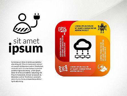 Information Security Presentation Concept, Slide 7, 02929, Presentation Templates — PoweredTemplate.com