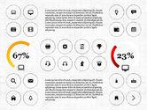 Icons: アイコンを含むInfographics #02930