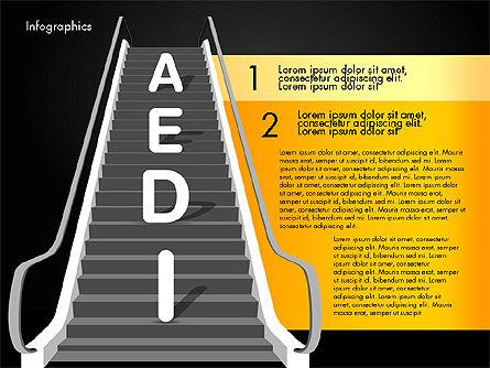 Steps to Success, Slide 12, 02932, Stage Diagrams — PoweredTemplate.com