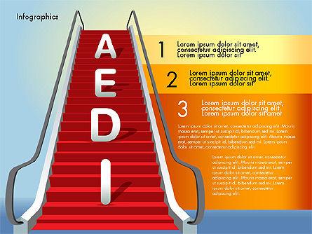 Steps to Success, Slide 5, 02932, Stage Diagrams — PoweredTemplate.com