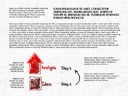 Business Plan Concept, Slide 3, 02933, Process Diagrams — PoweredTemplate.com