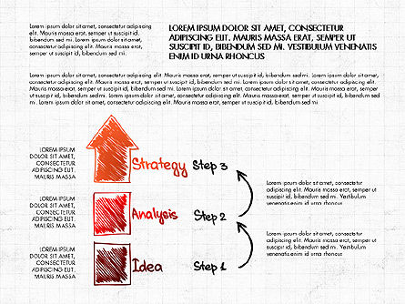 Business Plan Concept, Slide 4, 02933, Process Diagrams — PoweredTemplate.com