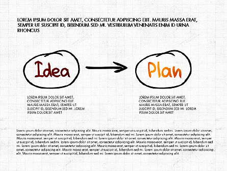 Business Plan Concept, Slide 7, 02933, Process Diagrams — PoweredTemplate.com