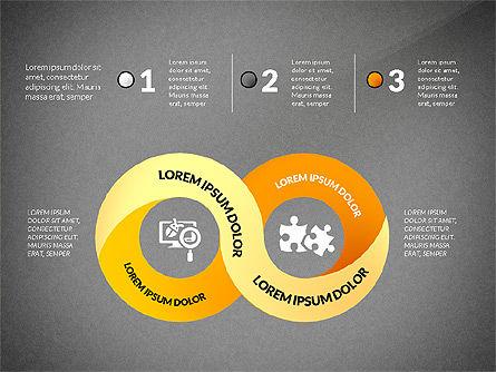 Mobius Strip Options Concept, Slide 11, 02936, Stage Diagrams — PoweredTemplate.com