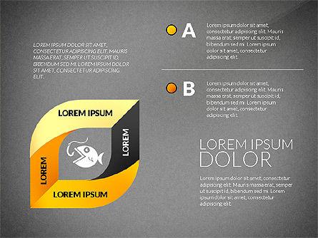 Mobius Strip Options Concept, Slide 14, 02936, Stage Diagrams — PoweredTemplate.com