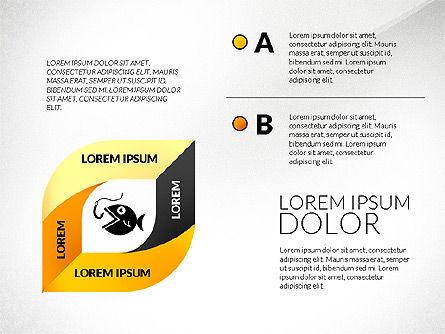 Mobius Strip Options Concept, Slide 6, 02936, Stage Diagrams — PoweredTemplate.com