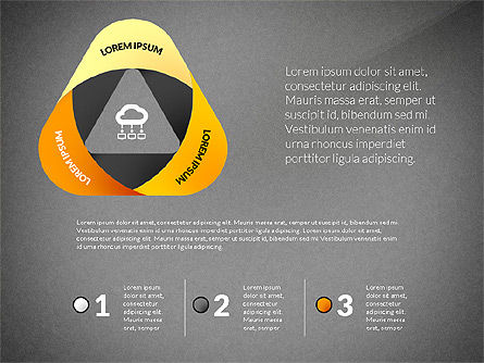 Mobius Strip Options Concept, Slide 9, 02936, Stage Diagrams — PoweredTemplate.com