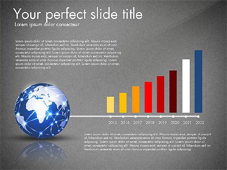 Global Network Presentation Template, Slide 10, 02937, Presentation Templates — PoweredTemplate.com
