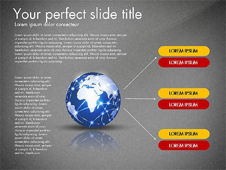 Global Network Presentation Template, Slide 11, 02937, Presentation Templates — PoweredTemplate.com