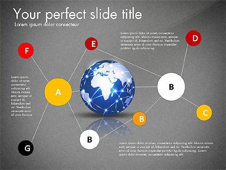 Global Network Presentation Template, Slide 12, 02937, Presentation Templates — PoweredTemplate.com