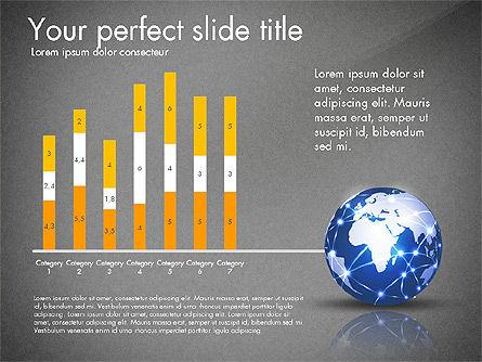 Global Network Presentation Template, Slide 13, 02937, Presentation Templates — PoweredTemplate.com