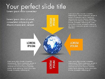 Global Network Presentation Template, Slide 16, 02937, Presentation Templates — PoweredTemplate.com
