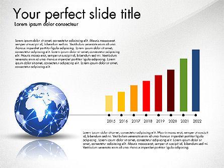 Global Network Presentation Template, Slide 2, 02937, Presentation Templates — PoweredTemplate.com