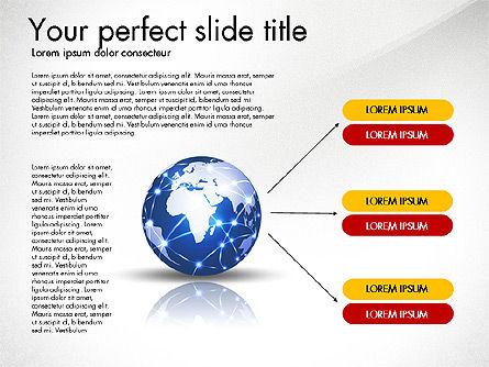Global Network Presentation Template, Slide 3, 02937, Presentation Templates — PoweredTemplate.com