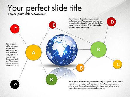 Global Network Presentation Template, Slide 4, 02937, Presentation Templates — PoweredTemplate.com