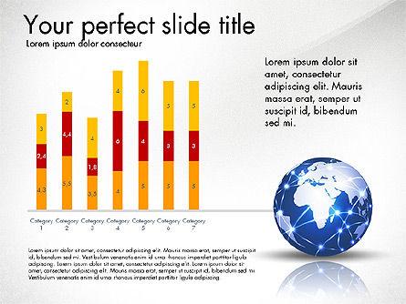 Global Network Presentation Template, Slide 5, 02937, Presentation Templates — PoweredTemplate.com
