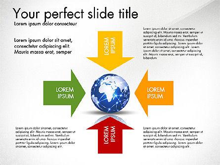 Global Network Presentation Template, Slide 8, 02937, Presentation Templates — PoweredTemplate.com