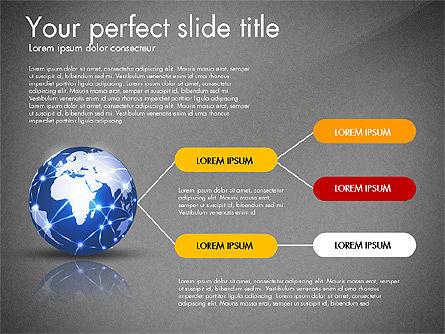 Global Network Presentation Template, Slide 9, 02937, Presentation Templates — PoweredTemplate.com