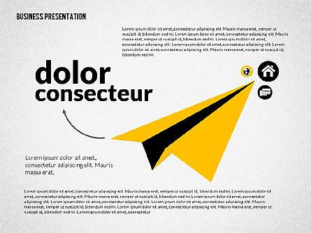 Creative Social Presentation Concept, 02938, Presentation Templates — PoweredTemplate.com