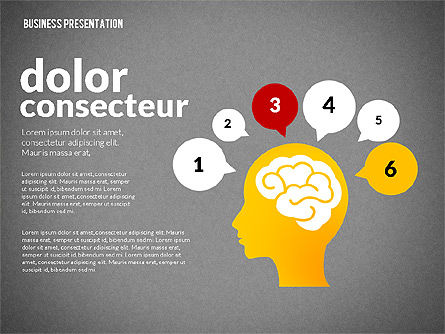 Creative Social Presentation Concept, Slide 11, 02938, Presentation Templates — PoweredTemplate.com