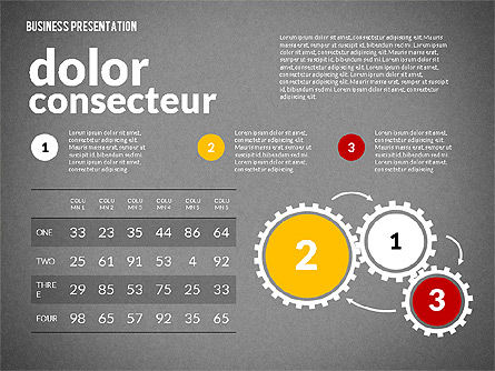 Creative Social Presentation Concept, Slide 14, 02938, Presentation Templates — PoweredTemplate.com