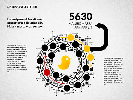 Creative Social Presentation Concept, Slide 7, 02938, Presentation Templates — PoweredTemplate.com