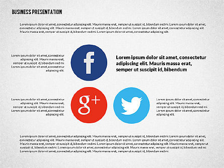 Creative Social Presentation Concept, Slide 8, 02938, Presentation Templates — PoweredTemplate.com