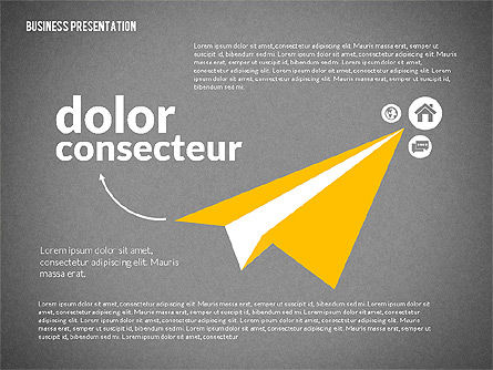 Creative Social Presentation Concept, Slide 9, 02938, Presentation Templates — PoweredTemplate.com